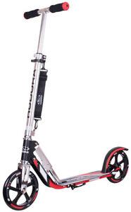 Hudora Big Wheel RX 205 Racing Scooter Roller 14724/01 schwarz- rot black/red