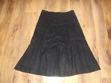 Linen A-Line Solid Regular Size Skirts for Women