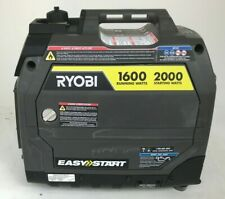 RYOBI RYI2000GRA Generator 2000-Watt Built-in Inverter Gasoline Powered, L.N