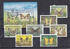 Uzbekistan 1995 - Block & Sheets - Vlinders / Schmetterlinge / Butterflies