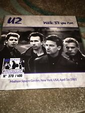 U2 Walk Till You Run New Release 2 x LP Marbled Vinyl Rare! Number 370