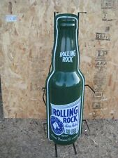 "Rolling Rock Bottle Neon Beer Sign ~ Cub Party, Man Cave 40"" x 13"""
