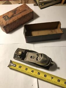 """Great Neck Block Plane With Adjustable Throat 1 5/8in Cutter 6"""" Long"""