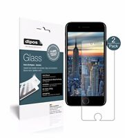 1+1x Apple iPhone 8 Plus Protection ecrán mat Verre souple Film Protecteur 9H