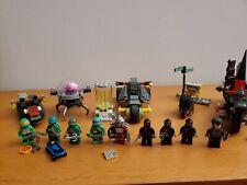LEGO TMNT Ninja Turtles Minifigures LOT 79118 79102 79101 79100 Shredder