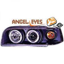 Scheinwerfer Set für Volvo 850 92-97 Klarglas/Schwarz Angel Eyes H1+H1