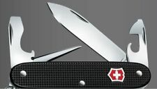 Victorinox Pioneer Black Alox with Red Shield Swiss Army Knife rar collector