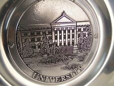 Purdue University Hovde Hall Engraved 11 Inch Pewter Plate RWP Wilton Columbia