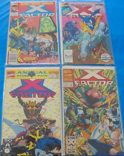 Marvel Comics X-Factor Annual Lot # 2 4 6 8 Inhumans Atlantis Attacks Kings Pain