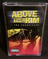 Above The Rim Movie Soundtrack Cassette Tape Death Row Records 2pac 1994
