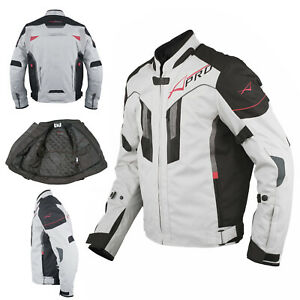 Motorcycle Textile Vented Jacket Reflective Armor CE Motorbike Cordura