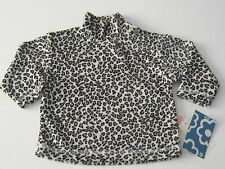 New FRANNIE FLOWERS Size 6M Gray Leopard Long Sleeve Shirt