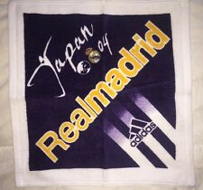 Real Madrid vs. Japan Friendly Adidas Football '04 Accessory Hand Towel NIB 34cm