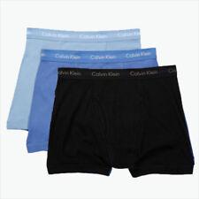 Calvin Klein Boxer Briefs - Large - Blue - Black - 3 Briefs