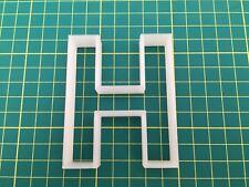 Alphabet Letter H cookie cutter