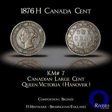 1876 Canada Large Cent - Victorian Era