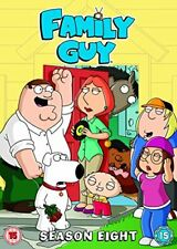 Family Guy - Series 8 - Complete (DVD, 2009, 3-Disc Set) - As New