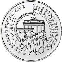 Deutschland 25 Euro 2015 Deutsche Einheit Münzzeichen G bankfrisch in Münzkapsel