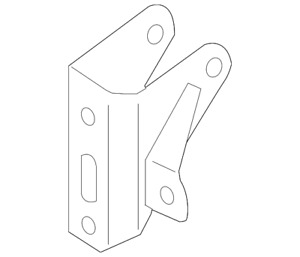 Genuine GM Rear Mount Bracket 88975602