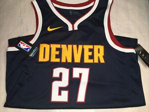 NIKE NBA DENVER JERSEY VEST SWINGMAN BASKETBALL LARGE DENVER 27 AA7090-419
