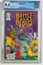 Battle Beasts 2 Second Appearance Hasbro Blackthorne Low Print Run NM CGC 9.2