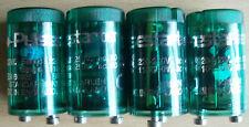 4 x PULSE STARTER FOR FLUORESCENT LIGHTING 15 - 22w suitable for 4 tube fittings