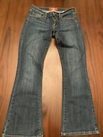 Lucky Brand Woman's Size 6/28 JEANS Sophia Boot Cut Dark Wash Stretch Ankle