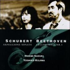 , Beethoven: Cello Sonata No. 3, op. 69/Schubert: Arpeggione Sonata in a, Excell