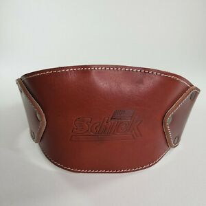 "Schiek Sports Model L5008 7"" Wide Padded Back Genuine Leather Dipping Belt"