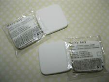 NEW SHAPE! 2 pkgs Mary Kay Powder Makeup Compact Sponges 4 total Applicators lot