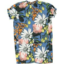 MARNI Multicoloured Silk Blend Floral Girl Dress Size 12 Year Old