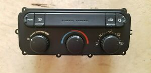 CHRYSLER VOYAGER 2.4 108kw Heater Control Climate Control Panel 05134768AA  #26W
