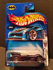 2004 Hot Wheels #001 First Editions 1/100 : Batmobile Black Base - B3540