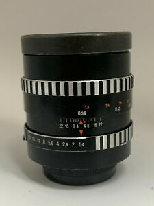 Rare Carl Zeiss Pancolar 55mm f1.4 M42 lens no.7173304