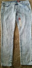 NEW Womens Junior Size 17 Plus Size Skinny Stonewashed Jegging Jeans