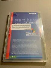 Microsoft Windows XP Media Center Edition 2005 with 3 CDs