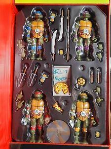 2017 TMNT Kevin Eastman SIGNED SDCC NECA 30th Ann. Teenage Mutant Ninja Turtles