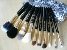 New 10pcs Makeup Brush Set with Cases