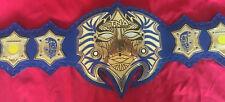 New TNA Jeff Hardy Immortal Belt Adult Size metal plates