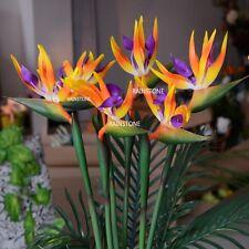 3pcs PU Artificial Strelitzia Reginae Flamingo Bird Flower Wedding Home Decor