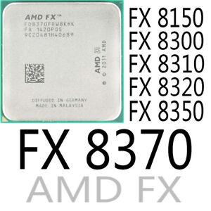 AMD FX8150 FX8300 FX-8310 FX-8320 FX 8350 FX 8370 CPU-Sockel AM3 + Prozessor