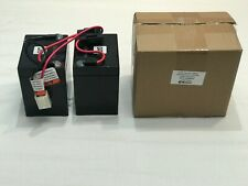 Oem Genuine Razor Crazy Cart 5V Battery With Wiring Connector And Box!
