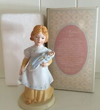 A Mothers Love 1981 Exclusively Handcrafted For Avon Porcelain Original box