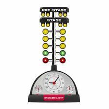 Drag Racing Christmas Tree Lighted Thermometer Sound Tabletop Alarm Clock