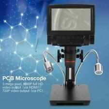 "Microscopio Digital 5""LCD Lupa 1080P Visual Cámara Sensor 3MP + Control Remoto"