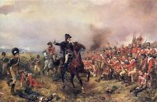 Duke of Wellington Battle of Waterloo British Army Hillingford Print 7x4 inch