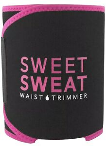 Sweet Sweat Waist Trimmer Belt Size Small Unisex Pink & Black - Pre-Owned Clean