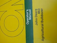 John Deere Operators Manual for 863 Agricultural Bulldozer #OMGA10488