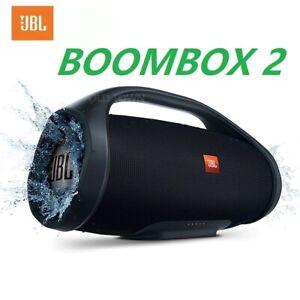 New JBL Boombox 2 Waterproof Portarble Wireless Dynamics Music Bluetooth Speaker