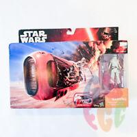 Star Wars Rey's Jakku Speeder Rey Action Figure and Vehicle Set Force Awakens